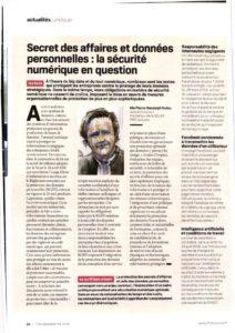 Confidencialidad empresarial y datos personales: la seguridad digital en entredicho
