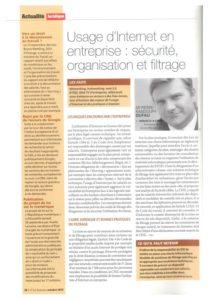 El uso de Internet en la empresa: seguridad, organización y filtrado